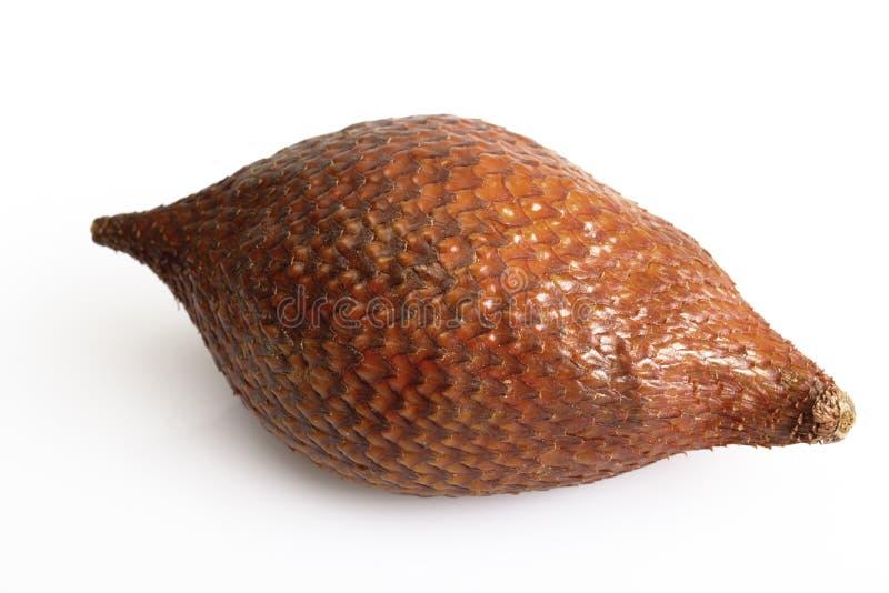 Cierre de la fruta de Salak para arriba fotografía de archivo