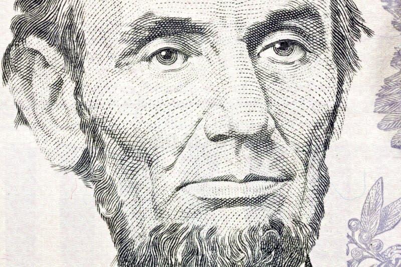 Cierre De La Macro De Ben Franklin Encima De $100 Bill Imágenes de archivo libres de regalías