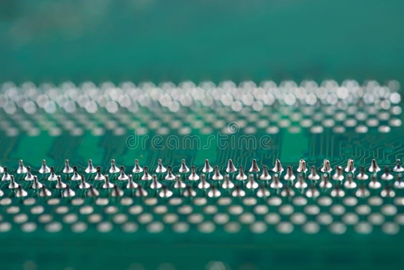 Cierre de la tarjeta de circuitos electrónicos para arriba El fondo puede utilizar Internet, imprimir la publicidad y diseñar imagen de archivo