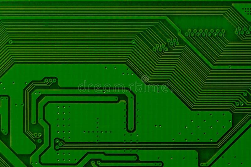 Cierre de la tarjeta de circuitos electrónicos para arriba El fondo puede utilizar Internet, imprimir la publicidad y diseñar fotografía de archivo libre de regalías