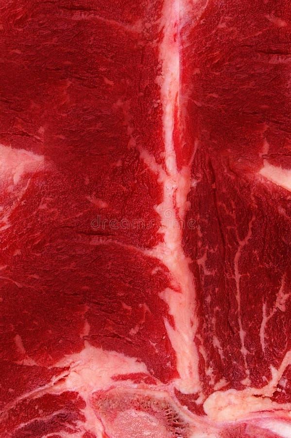 Cierre de la textura de la carne para arriba foto de archivo
