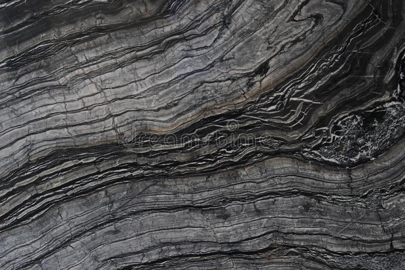 Cierre de mármol negro y gris para arriba imágenes de archivo libres de regalías