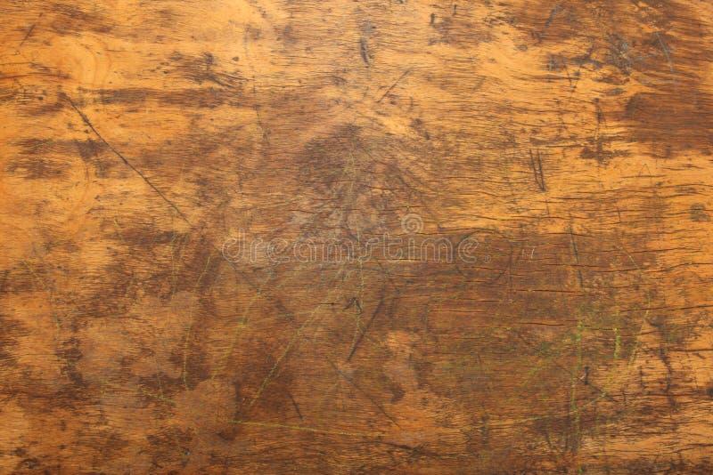 Cierre de madera de la textura del escritorio para arriba foto de archivo libre de regalías
