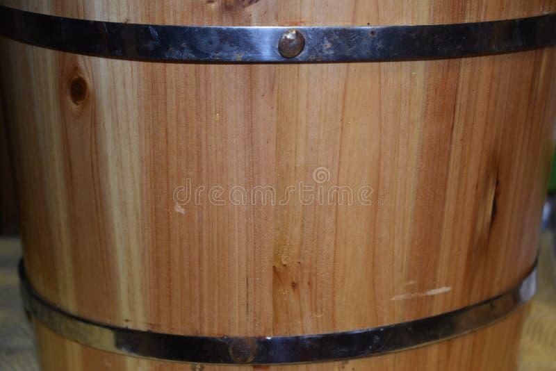 Cierre de madera del barril para arriba foto de archivo libre de regalías