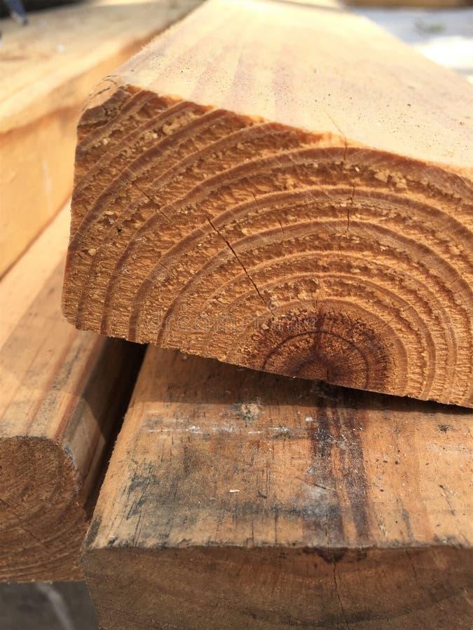 Cierre de madera de 2x4 Lumber fotos de archivo libres de regalías
