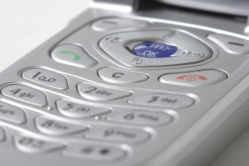 Cierre del teléfono celular para arriba imagen de archivo libre de regalías