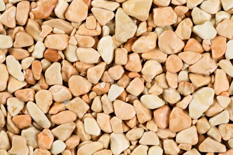 Cierre encima de la alfombra de piedra natural, beige extremo y color nata en diversos sombras y tintes del beige Capa de la pied foto de archivo libre de regalías