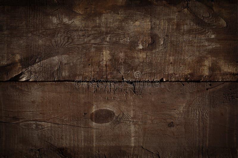 Cierre encima del fondo rústico oscuro, tabla superior vieja de la textura Fondo de la vendimia Textura de madera del grunge, vis fotos de archivo