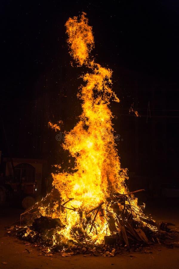 Cierre grande del fuego para arriba fotos de archivo libres de regalías