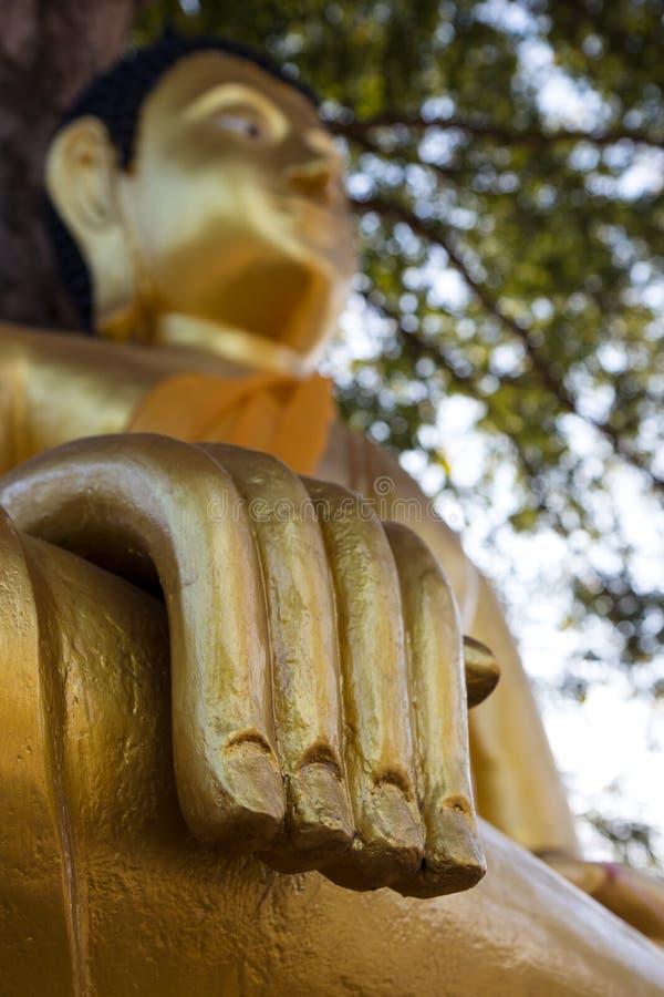 Cierre-mano Buda foto de archivo
