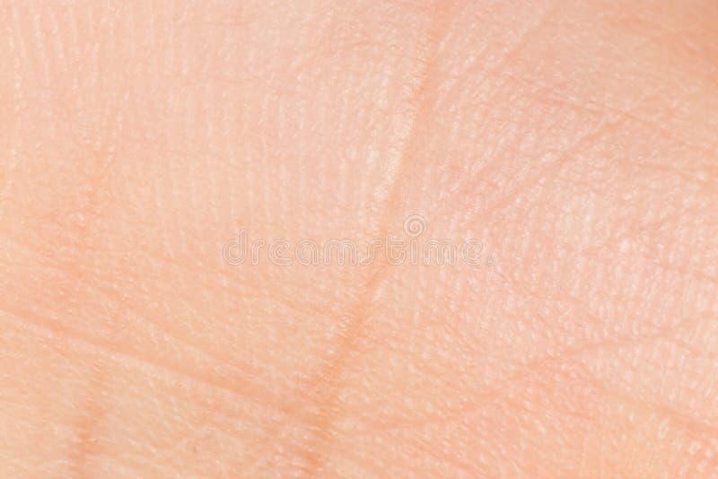 Cierre masculino de la mano para arriba que muestra apenas su piel fotos de archivo libres de regalías
