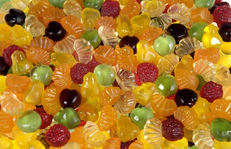 Cierre para arriba de los caramelos gomosos fotos de archivo libres de regalías