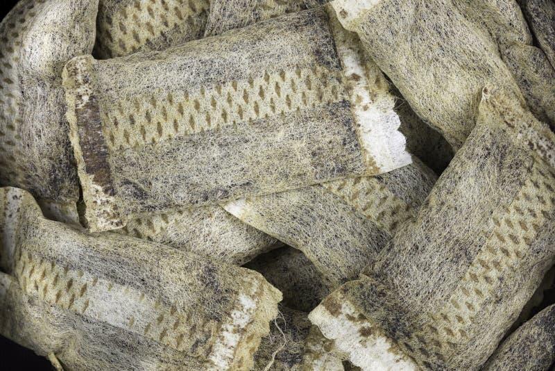 Cierre sueco de Snus de la porción para arriba fotos de archivo libres de regalías