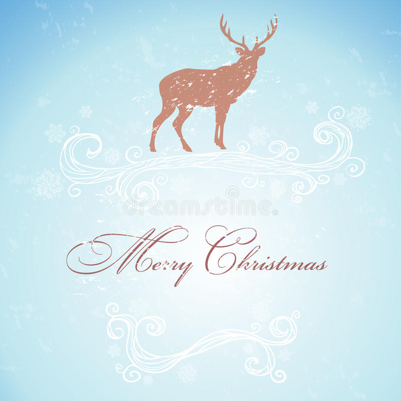 Ciervos de la Navidad libre illustration