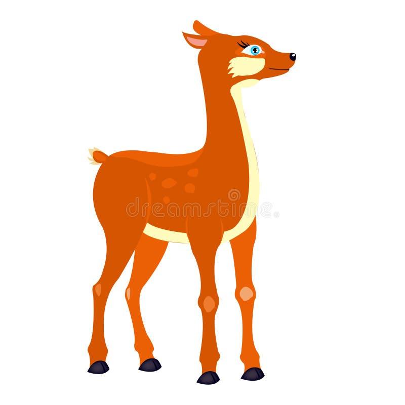 Ciervos del Fairy-tale stock de ilustración