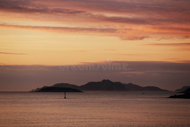 Cies Inseln lizenzfreie stockbilder