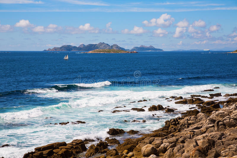 Cies Islands Stock Photography