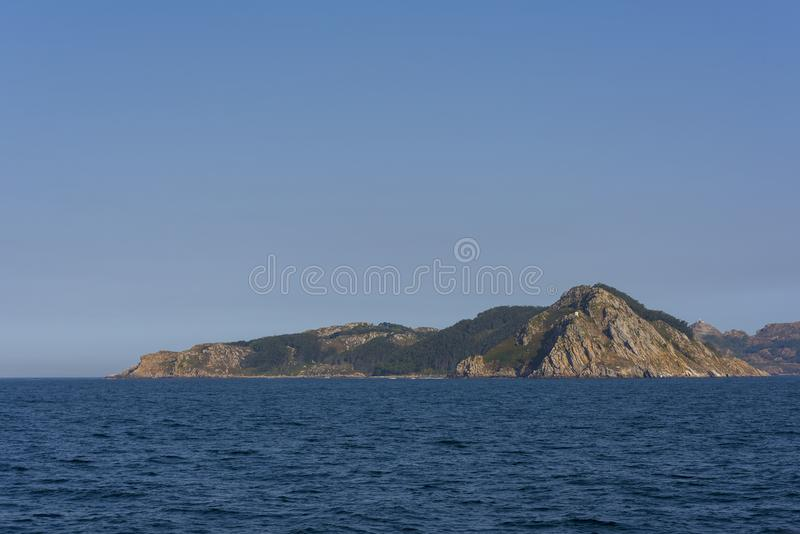 Cies Islands Pontevedra, Spain. Cies Islands, small islands located in Pontevedra, Spain stock photos