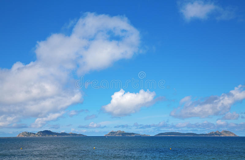 Download Cies islands wide angle stock photo. Image of scene, spain - 25797190