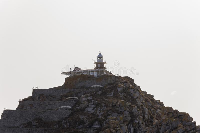 Cies wysp latarnia morska fotografia royalty free