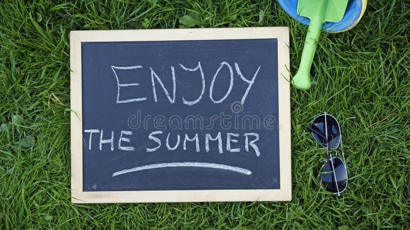 cieszy się lato zdjęcia stock