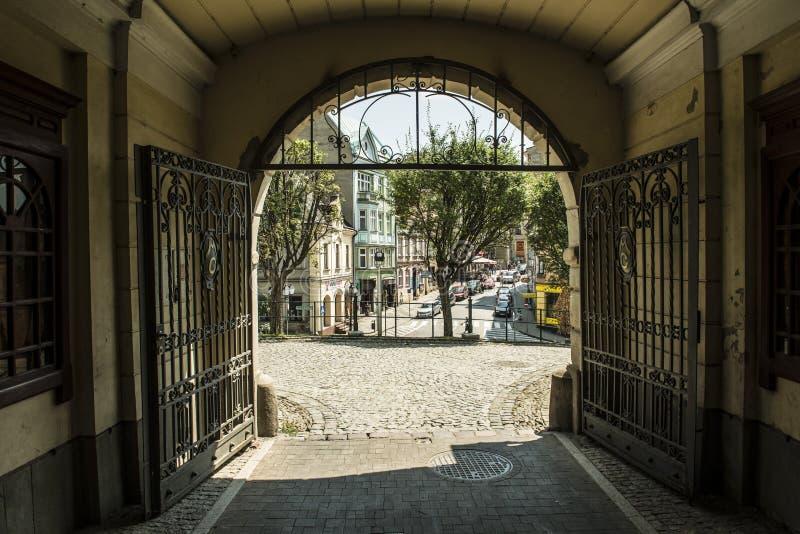 Cieszyn, Polen stockfotografie