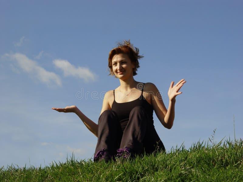 cieszysz się życiem plenerowego zdjęcie royalty free