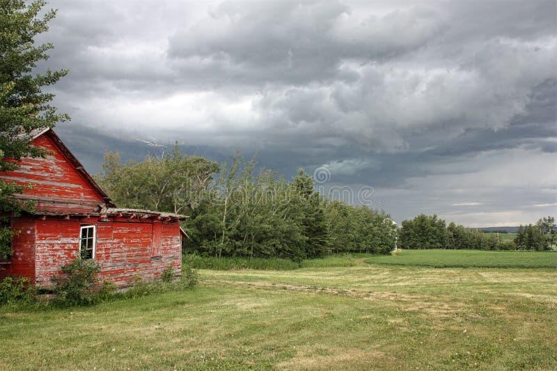 Cieux orageux photos libres de droits