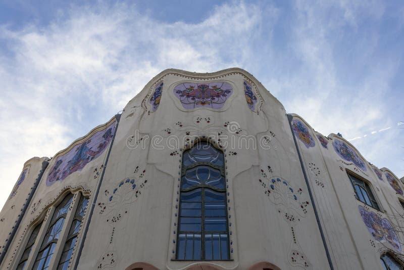 Cifrapalota-Gebäude in Kecskemet, Ungarn lizenzfreies stockfoto