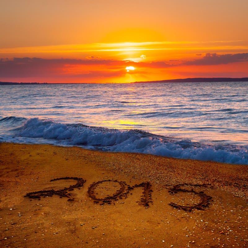 Cifre del nuovo anno 2015 immagini stock