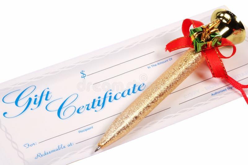 Cift Certificate stock photos