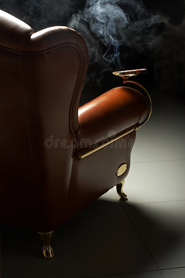 Free Cigar And Armchair Stock Images - 1957084