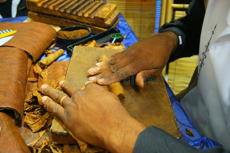 Cigar rolling stock photos