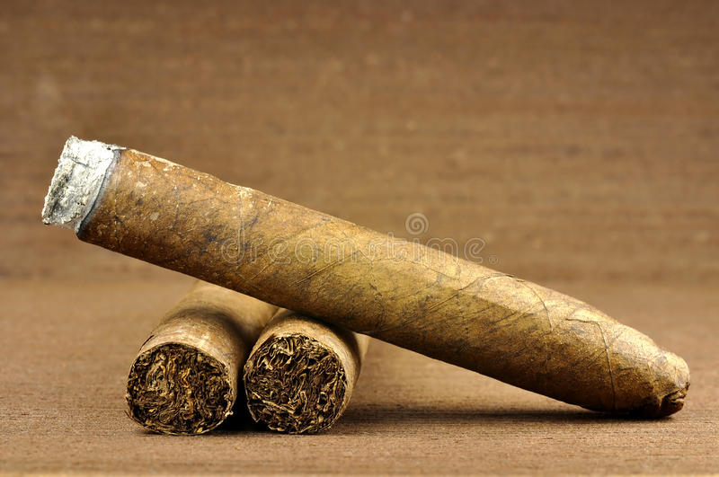 Cigare photographie stock