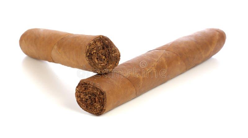 Cigare deux photographie stock libre de droits