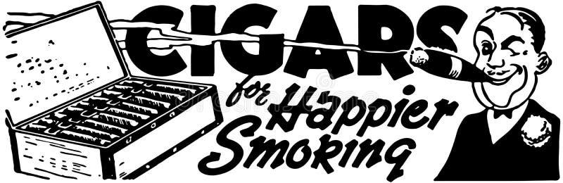 cigares illustration stock