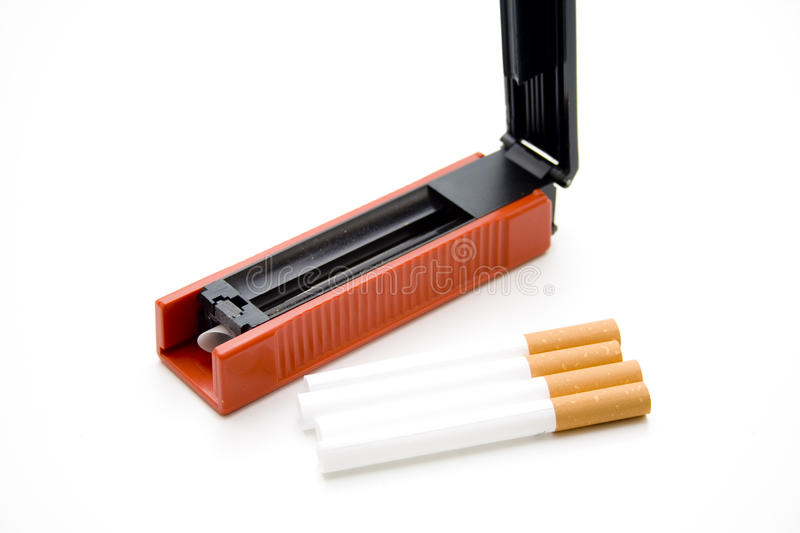 Cigarets Darning Appliance Stock Images