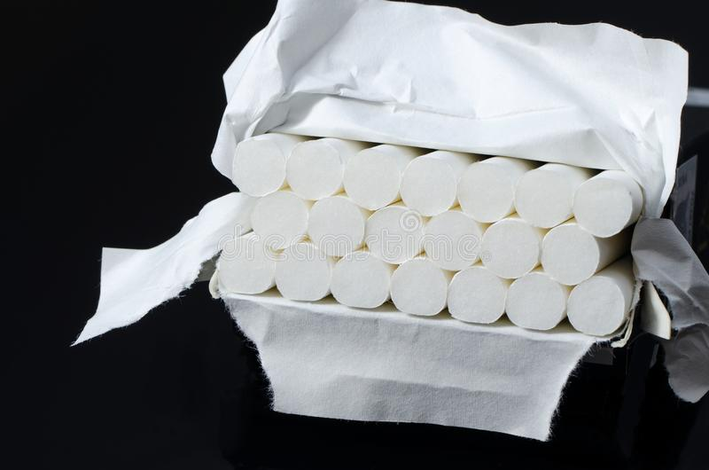 Cigarets pudełko fotografia stock