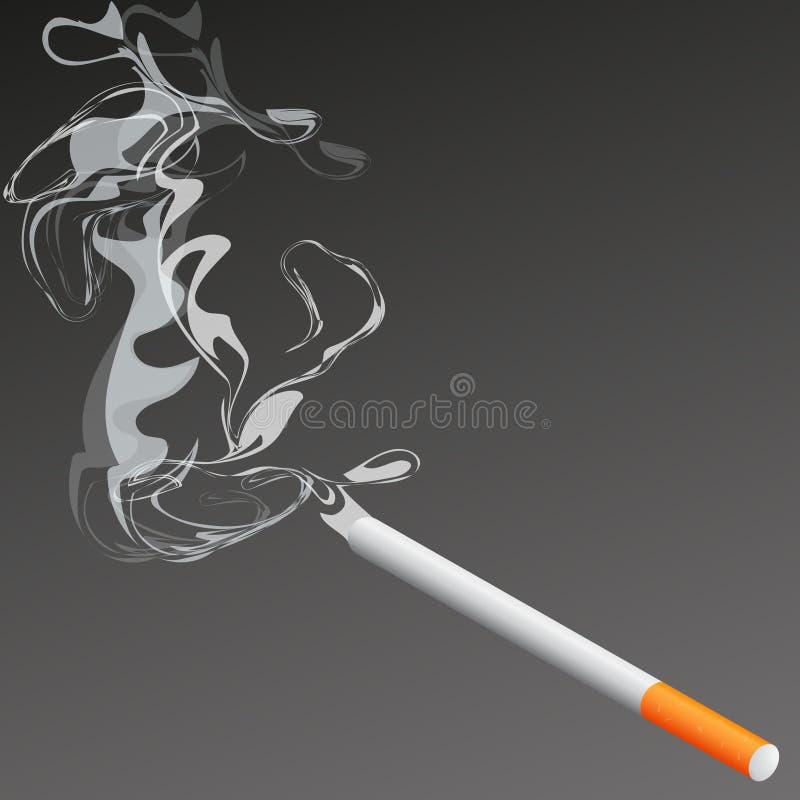 cigarett royaltyfri bild
