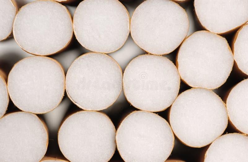 cigarettbunt royaltyfri bild