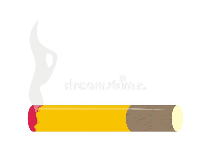 Download Cigarette stock vector. Image of kill, angel, warning - 23222716