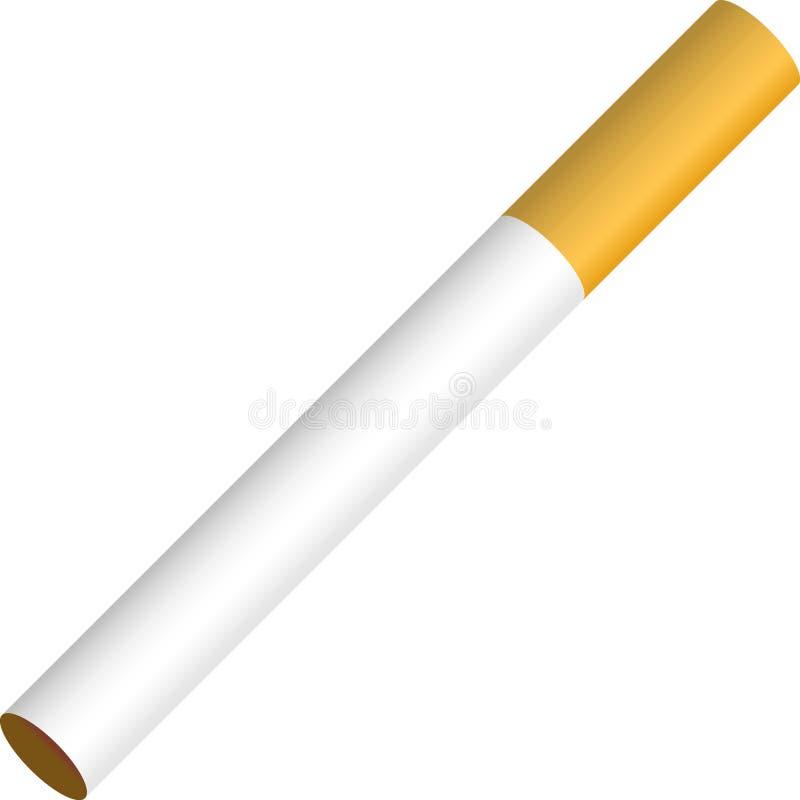 Cigarette illustration de vecteur