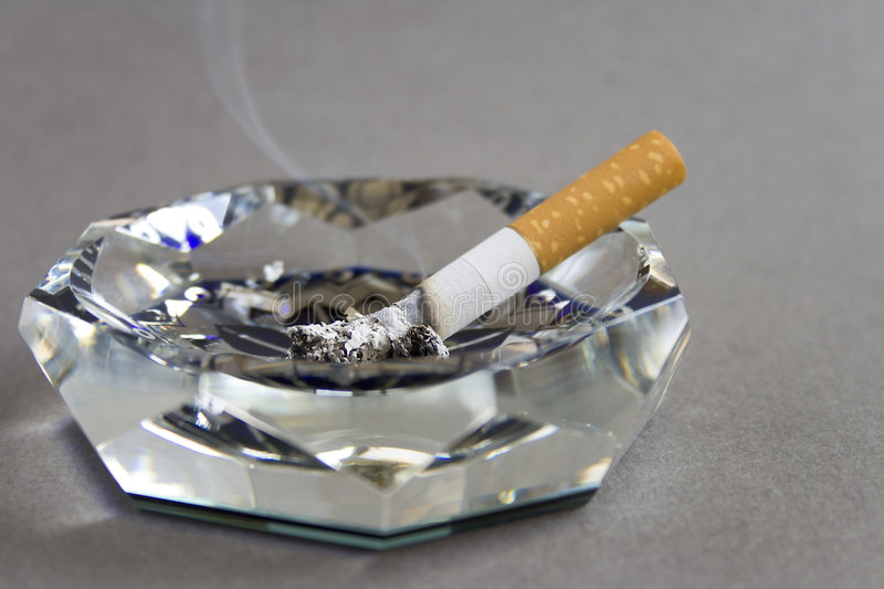 Download Cigarette and ashtray stock image. Image of danger, burnt - 2306893