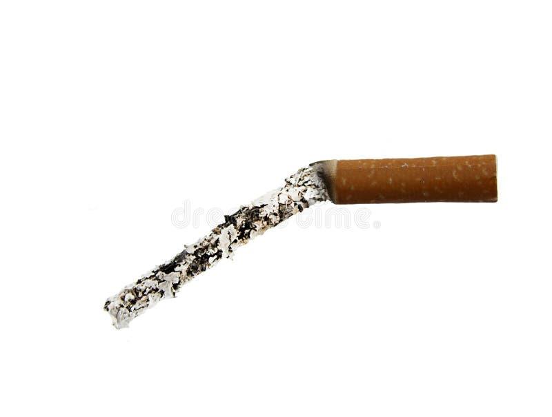 Cigarette avec le dysfonctionnement érectile images stock