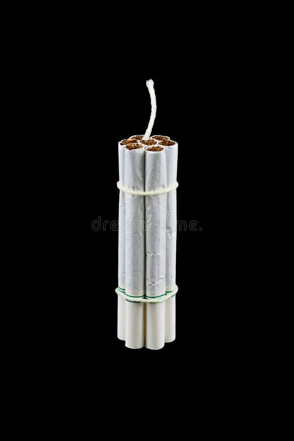 Download Cigarette Bomb stock image. Image of hazard, cancer, risk - 17085217