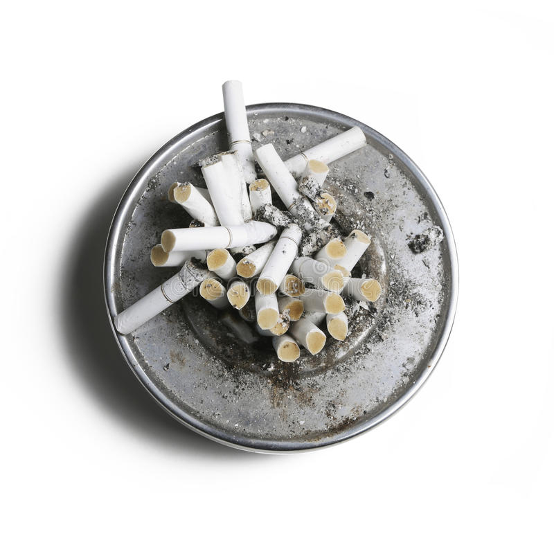 Download Cigarette in Ashtray stock image. Image of leisure, abuse - 12889443