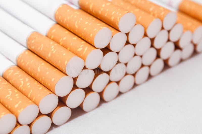 Cigarette closeup stock photos