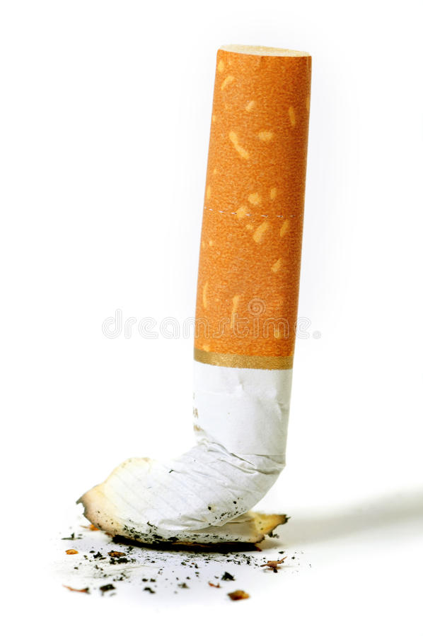 cigarette de bout images stock