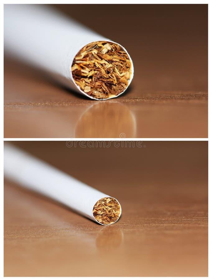 Cigarette detail royalty free stock photo