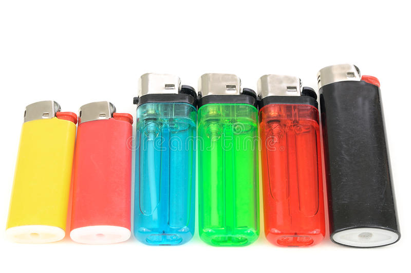 Download Cigarette lighters stock image. Image of manually, butane - 28580091